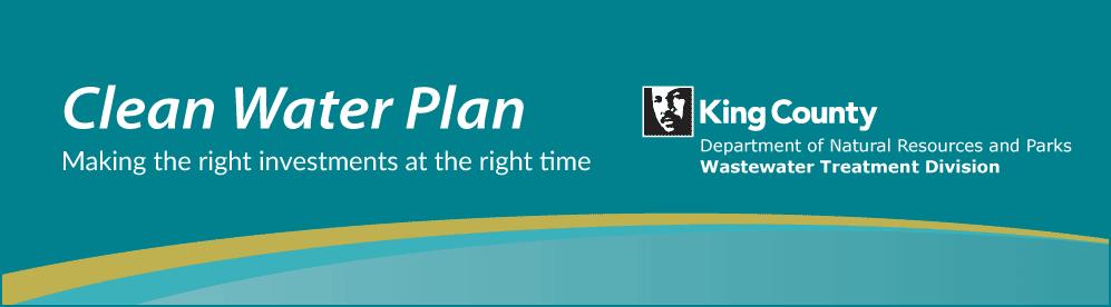 Clean Water Plan header